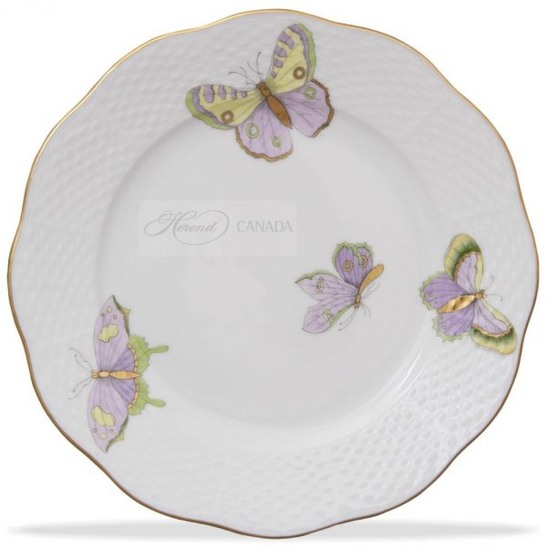 Dinner Plate - Royal Garden Butterflies