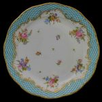 Dinner Plate - Turquoise Eclectic