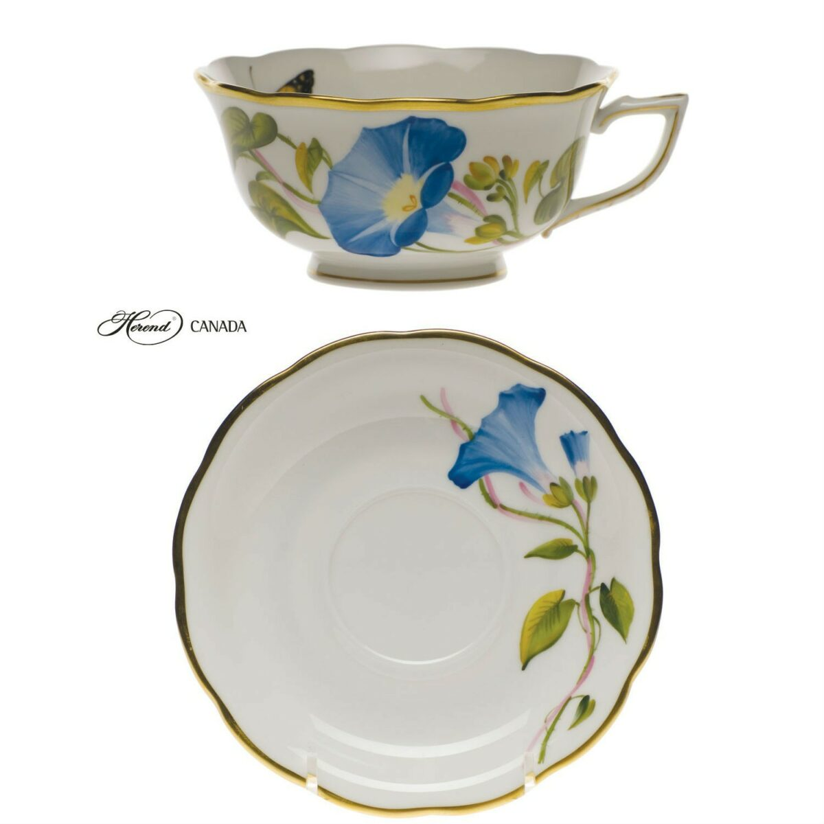 Teacup and Saucer - American Wildflower Edition