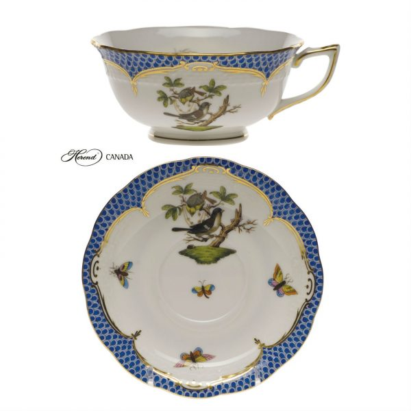 Teacup - Rothschild Bird Blue