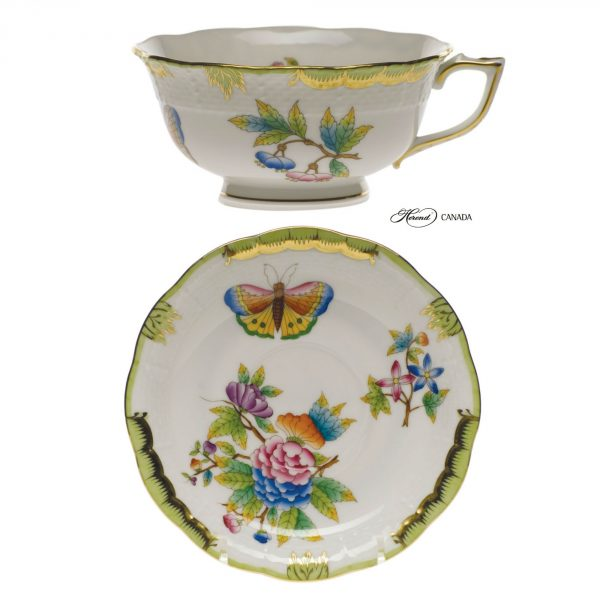 Teacup and Saucer - Queen Victoria