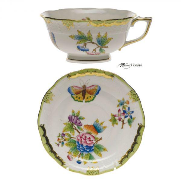 Teacup and Saucer - Queen Victoria