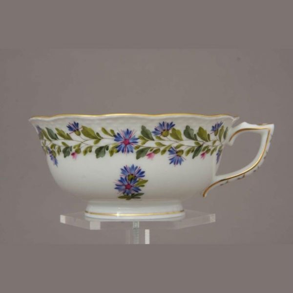 Teacup and Saucer - Rich Petit Blue Garland