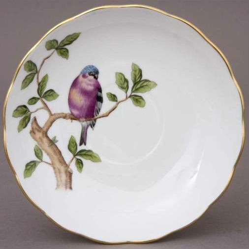 Teacup and Saucer - Singing Bird Edition