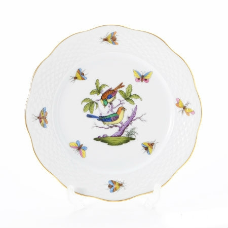 Dinner Plate - Rothschild Bird Multicolor