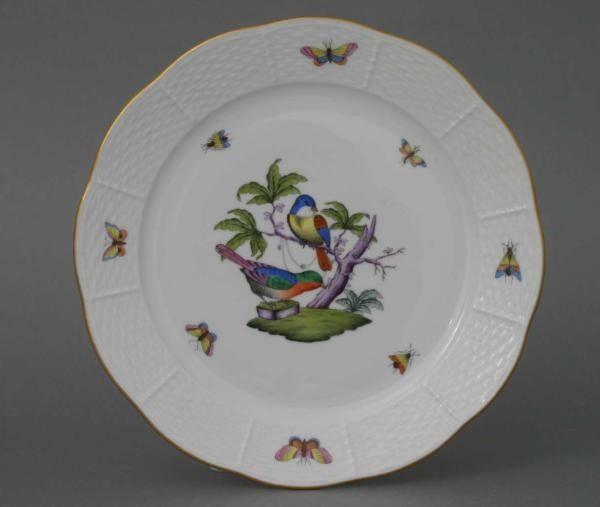 Dinner Plate - Rothschild Bird Multicolor