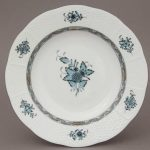Herend soup-plate-98-chinese-bouquet-colors