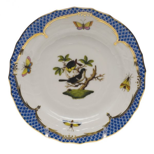 Soup Plate - Rothschild Bird Blue Fishnet