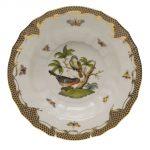 Soup Plate - Rothschild Bird Maroone