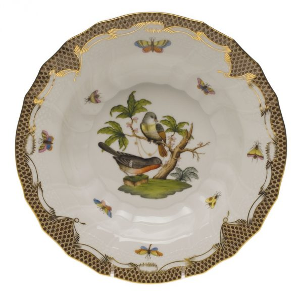 Soup Plate - Rothschild Bird Maroone