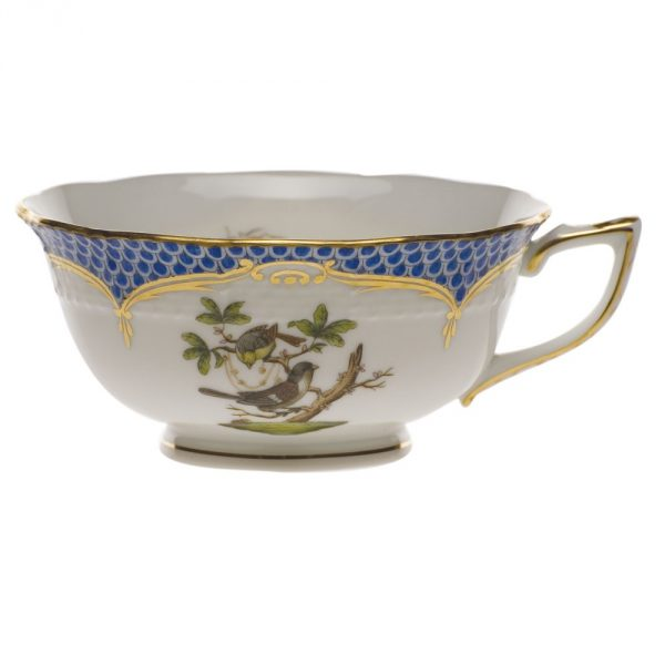 Teacup and Saucer - Rothschild Bird Blue (Assorted Birds)