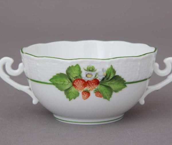 Soup Cup and Saucer- Fruits of Forest