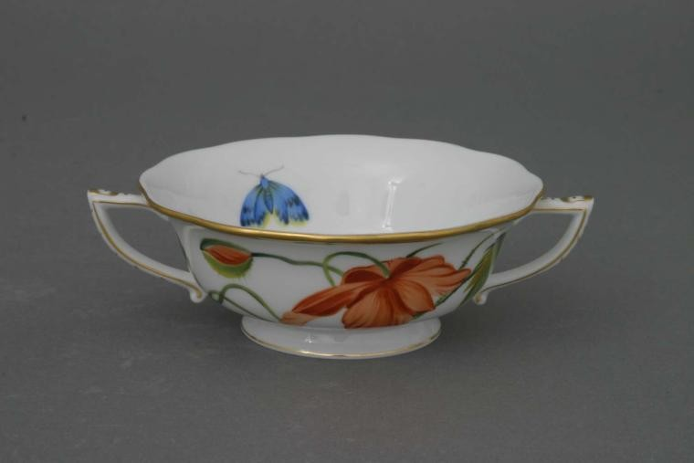 Soup Cup and Saucer - American Wildflower