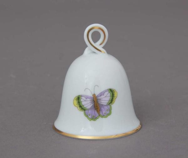 Table bell, loop knob - Royal Garden Butterflies