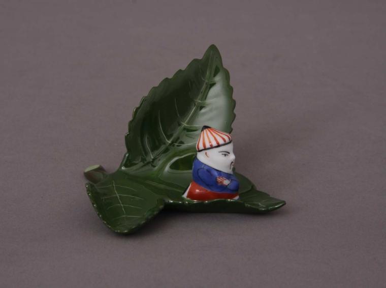 Placecard Holder - Mandarin-On-Leaf
