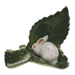 Place Card Holder - Rabbit On Leaf
