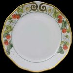 Dinner Plate - Berries Gold Edition