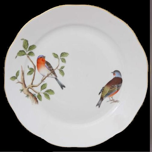 Dinner Plate - VROVT-Song Birds