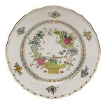 Dinner Plate - Indian Basket (Assorted Colors)
