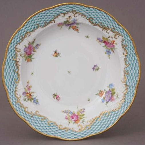 Soup Plate - Turquoise Eclectic