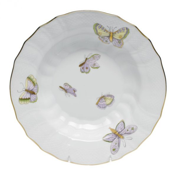 Soup Plate - Royal Garden Butterflies