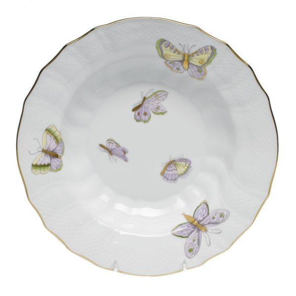Soup Plate - Royal Garden Butterflies