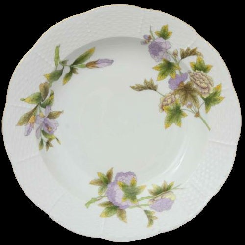 Soup Plate - Royal Garden Flowers