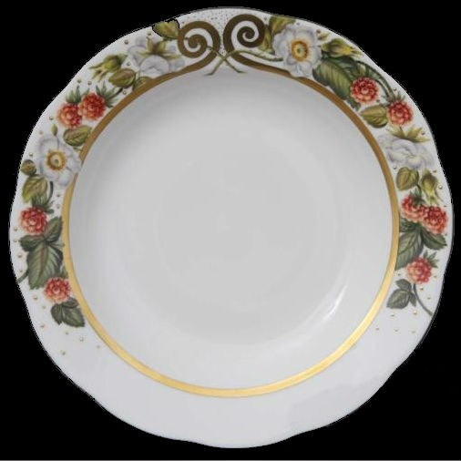 Soup Plate - Berries Gold Edition
