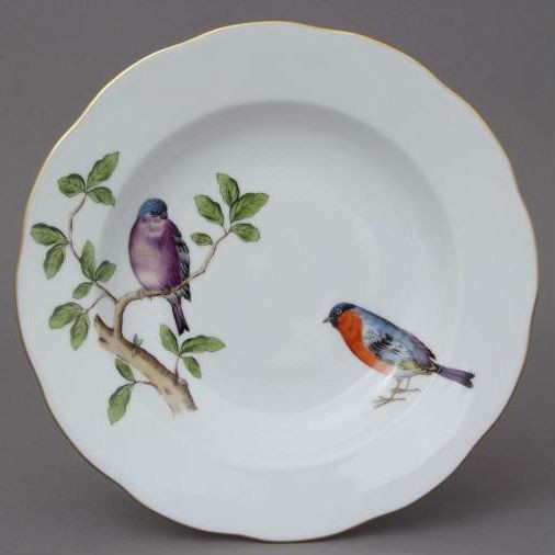 Soup Plate - Song Bird Edition
