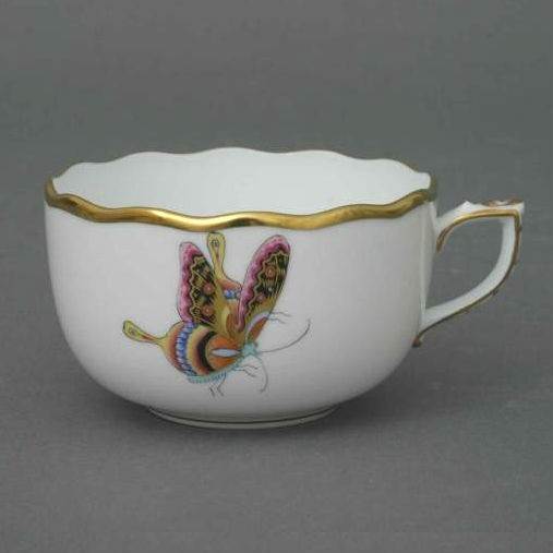 Teacup - Butterfly and Bamboo