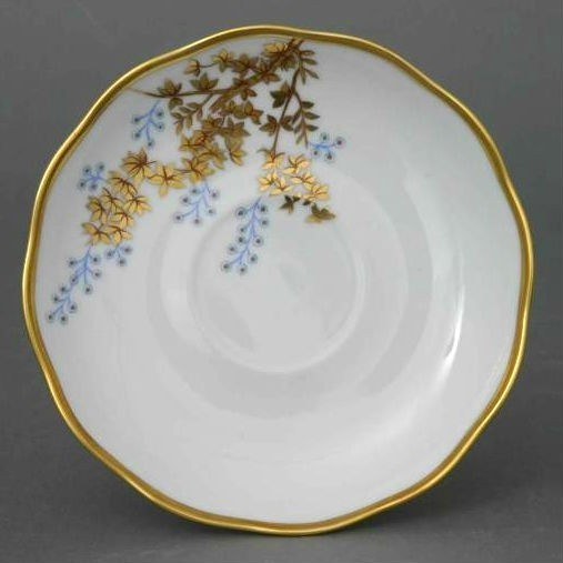 Teacup and Saucer - Butterfly and Bamboo