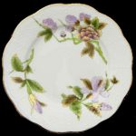 Bread & Butter Plate - Royal Garden Flowers