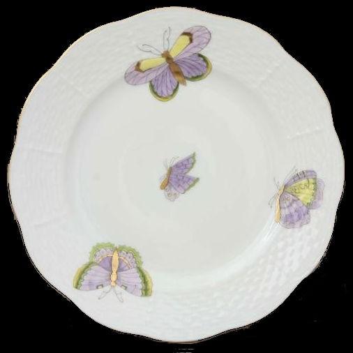 Bread & Butter Plate - Royal Garden Butterflies