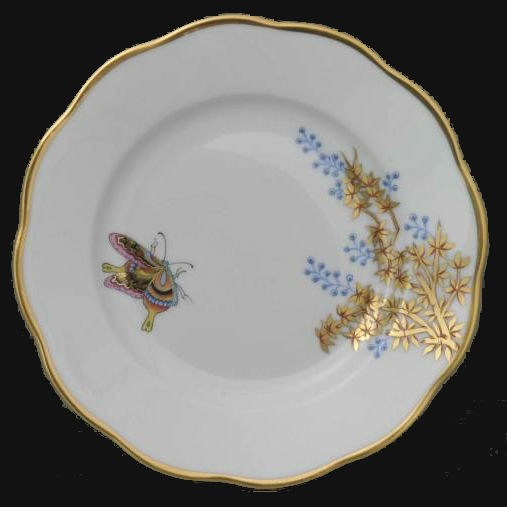 Bread & Butter Plate - Butterfly & Bamboo