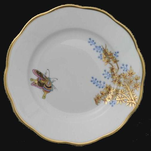 Bread & Butter Plate - Butterfly & Bamboo