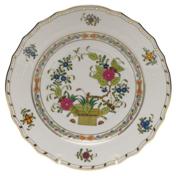 Salad Plate - Indian Basket (Assorted Colors)
