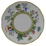 Dinner Plate - Butterfly & Bamboo