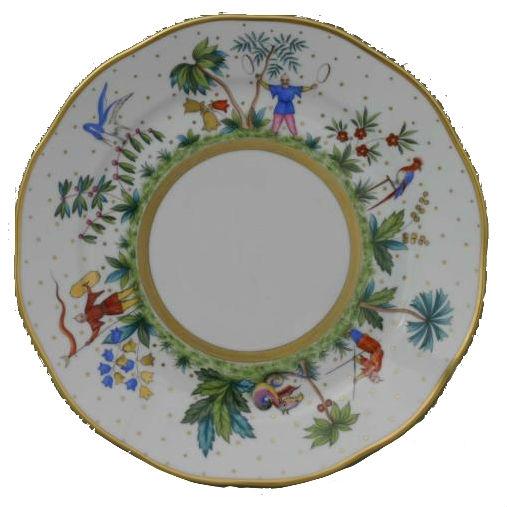 Dinner Plate - Butterfly & Bamboo