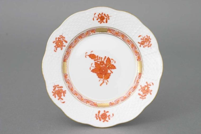 Bread & Butter Plate- Indian Basket Colors