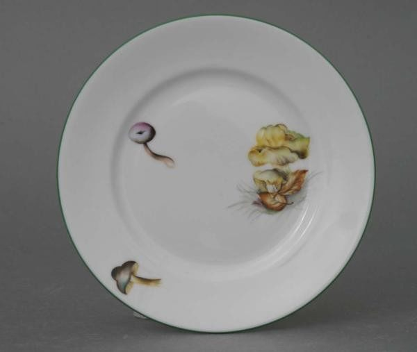 Bread & Butter Plate - Mushroom Edition