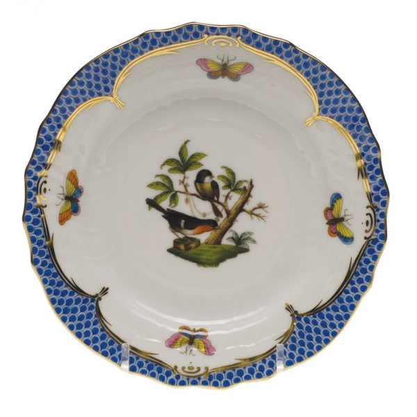 Bread & Butter Plate - Rothschild Bird Blue