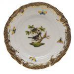 Bread & Butter Plate - Rothschild Bird Maroone