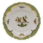 Bread & Butter Plate - Rothschild Bird Green