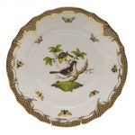 Dinner Plate - Rothschild Bird Maroone