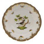 Dinner Plate - Rothschild Bird Maroone