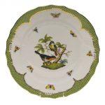 Dinner Plate - Rothshild Bird Green