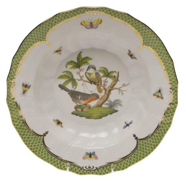 Soup Plate - Rothshild Bird Green