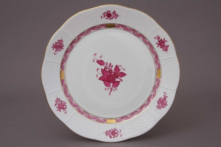 Herend Chinese Bouquet Salad Plate