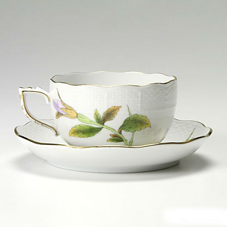 Teacup and saucer - Royal Garden Flowers