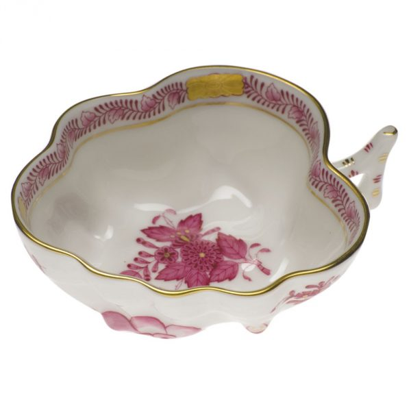 Sugar Bowl (Leaf shaped) - Chinese Bouquet